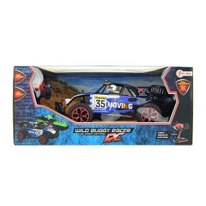 Masinuta cu Telecomanda Toi Toys - Wild Race Buggy 1:16, Albastru