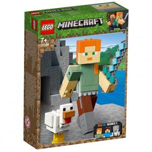 Minecraft Alex BigFig cu gaina