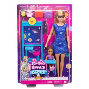 Papusa Barbie Profesoara cu Accesorii - Space Discovery