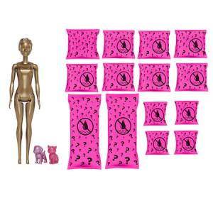 Papusa Barbie, Ultimate Color Reveal, colectia Day-To-Night, papusa surpriza, 25 de accesorii secrete