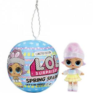 Papusa LOL Surprise Spring Sparkle Bunny Hun, 7 surprize