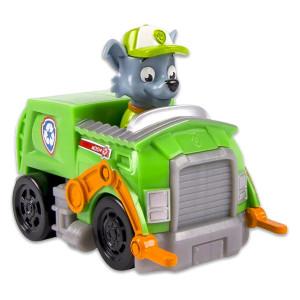 Paw Patrol: Rocky cu vehicul de reciclare
