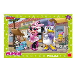 PUZZLE MINNIE LA PARIS 15 PCS PLACA