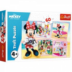 Puzzle Trefl 60piese - Minunata Minnie