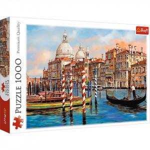 Puzzle Trefl - Canal Grande, Venetia, 1.000 piese