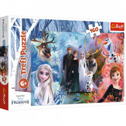 Puzzle Trefl Disney Frozen 2, Vreau sa cred in vise 160 piese