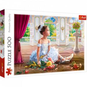 Puzzle Trefl, Micuta Balerina, 500 piese