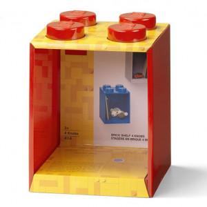 Raft Caramida LEGO 2x2 - Rosu