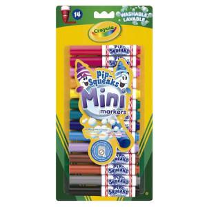Set Crayola mini markers lavabile, 14 bucati