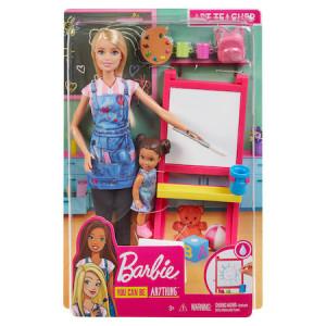 Set de joaca Barbie You can be, Profesor de desen