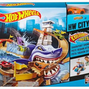 Set de Joaca Hot Wheels Culori Schimbatoare, 28 cm