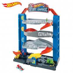 Set de joaca Mattel Hot Wheels Stunt Garage