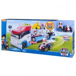 Set de joaca Paw Patrol cu vehicul si figurina Ryder