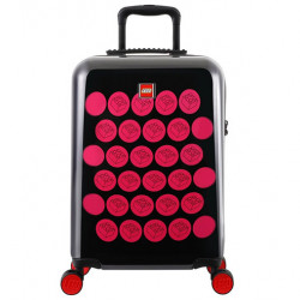 Troller LEGO ColorBox 20'' - Negru/Roz