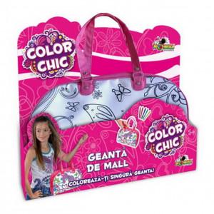 Color Chic-Geanta de Mall cu glitter si gems