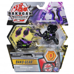 Figurina Bakugan Armored Alliance - Ultra Nillious, cu Baku-Gear Scorching Swords