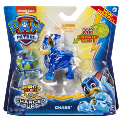 Figurina luminoasa Paw Patrol - Charged Up, Chase