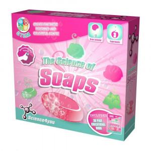 Joc educativ Science4you, Set laboratorul de sapunuri