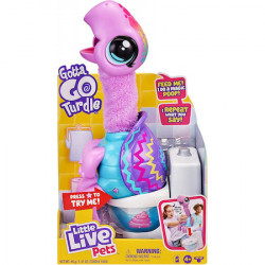 Jucarie interactiva Little Live Pets, Gotta Go Turdle
