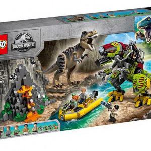 Lupta T. rex contra Dino-Mech