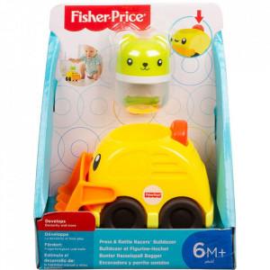 Masinuta Fisher-Price Buldozer Apasa si merge