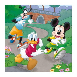 MICKEY AND MINNIE ATLETI 3x55 PCS