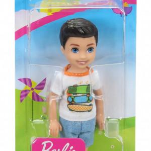 Papusa Barbie Chelsea Baiat Brunet 14 cm