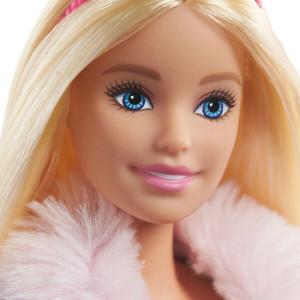 Papusa Barbie Princess Adventure - Printesa cu par blond si catelusa