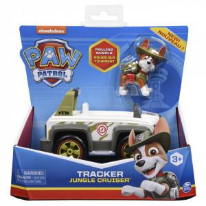 Patrula Catelusilor Vehicule cu figurina Catelus Tracker
