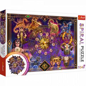 Puzzle Spiral Trefl 1040piese - Semne Zodiacale