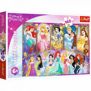 Puzzle Trefl 160piese - Princess Portraits