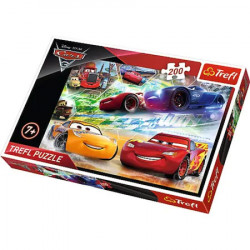 Puzzle Trefl, Disney Cars 3, Road to victory, 200 piese