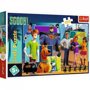 Puzzle Trefl, Scooby Doo, 100 piese