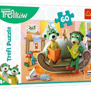 Puzzle Trefl - Treflikow, 60 piese