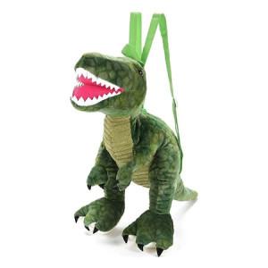 Rucsac din Plus Toi-Toys in Forma de Dinozaur