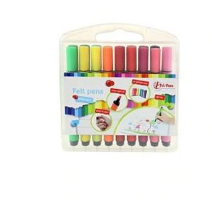 Set 18 Carioci Colorate Toi-Toys in Cutie de Plastic