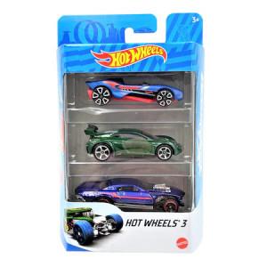 Set 3 masinute metalice Hot Wheels,1:64, multicolor,905