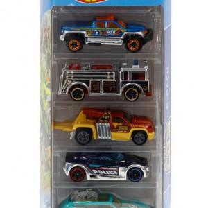 Set 5 Masinute Hot Wheels Cars - City