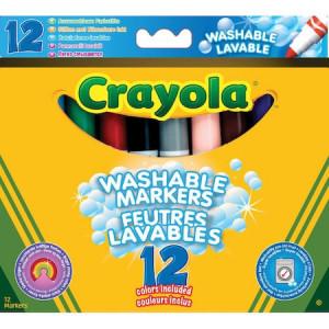 Set Crayola Carioci Lavabile 12 Culori