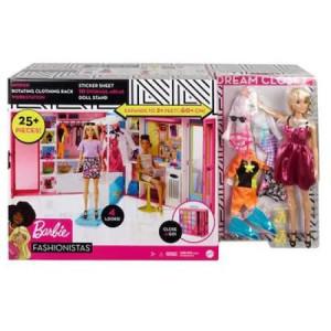 Set barbie garderoba