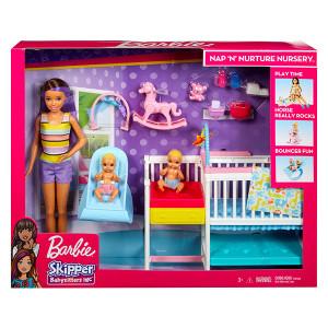 Set de joaca Barbie Skipper Babysitter si Camera de copii