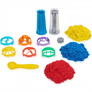 Set Kinetic Sand - Sandwhirlz, cu accesorii, 900g