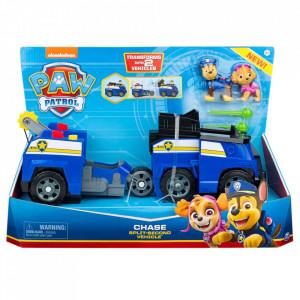 Paw Patrol: Vehicule transformabile 2 în 1 - Chase