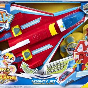 Paw Patrol-Mighty Pups Avion convertibil 2 în 1