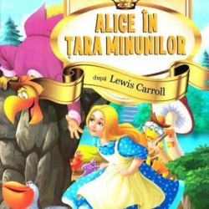 Alice in Tara Minunilor. Stiu sa citesc cu litere mari de tipar!