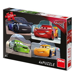CARS 3: RIVALII 4x54 PCS