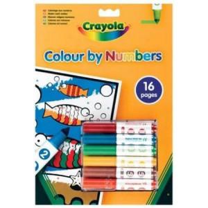 Carte Crayola Sa Coloram Dupa Numere