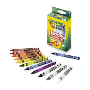 Creioane Cerate Crayola,24 culori