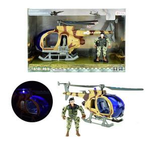 Elicopter Militar cu Soldat Toi-Toys