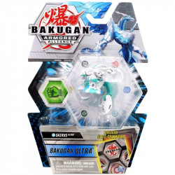Figurina Bakugan Armored Alliance - Sairus Ultra,cu Card Baku-Gear
